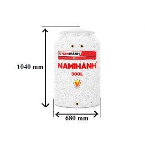 Bảng Vẽ Bồn Nước Nhựa Cao Cấp 300 Lít Nam Thành