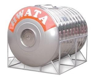 Bồn Nước Inox 30000 lít Nằm Hwata